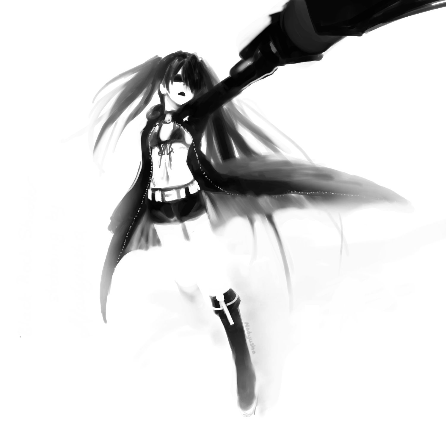 Black Rock Shooter fanart
