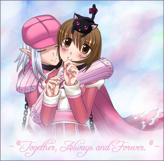 Ragnarok Online fanart: High Priestess & Assassin Cross